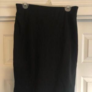 Philosophy knit skirt